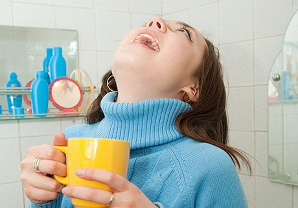 Как промыть гланды в домашних условиях